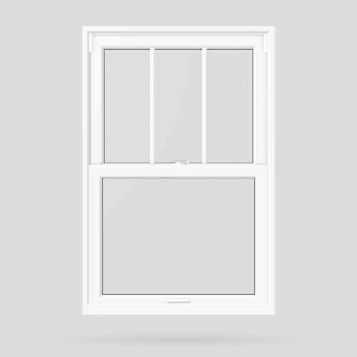 cottage style double hung window